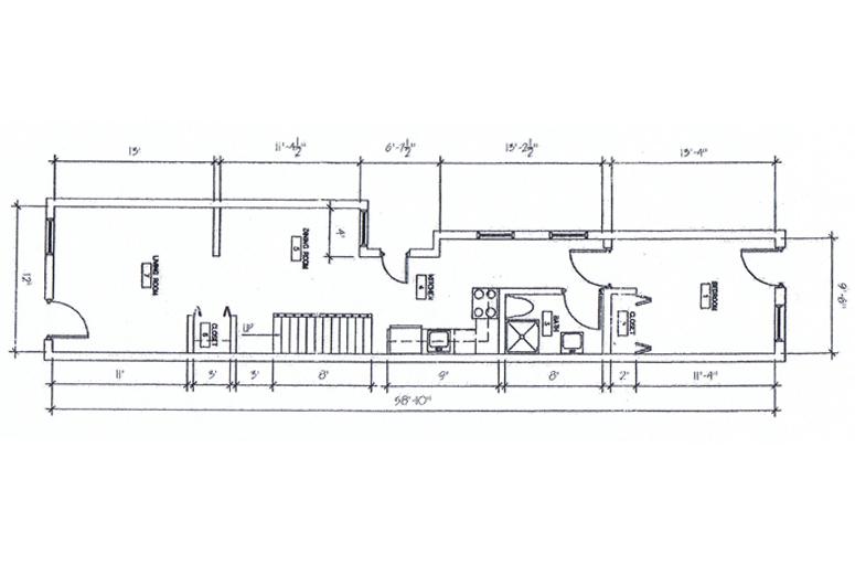 517 First Floor - Floorplan
