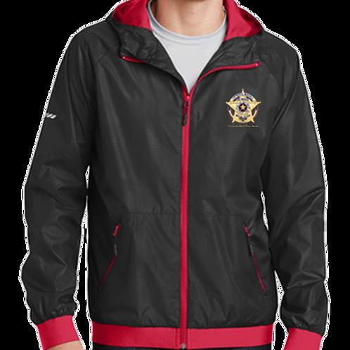 CMFR Badge Hooded Wind Jacket