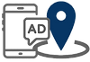 Online Advertising and Geofence