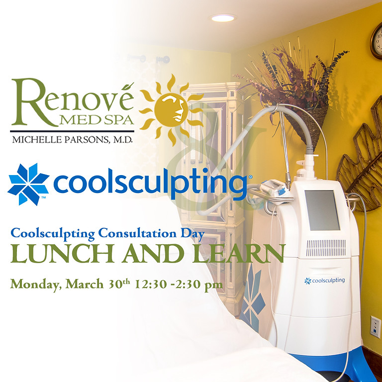Coolsculpting Consultation Day LUNCH AND LEARN