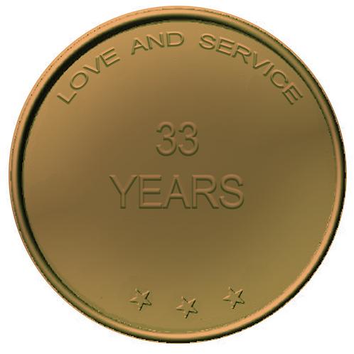 33 Years Chip