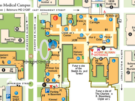 Johns Hopkin's Medical Campus Visitor Guide