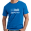 Thumbnail: Police Blue Stripe Distressed Flag T-Shirt