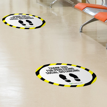 6ft Circle Floor Decal