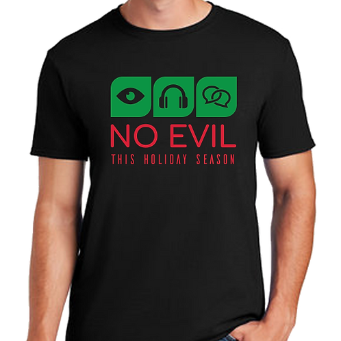 No Evil Jersey Short Sleeve Tee