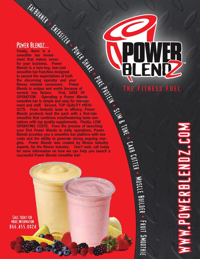 Power Blendz Catalog Cover