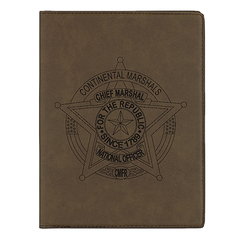 CMFR Badge Zip Portfolio Folder