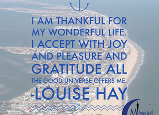 I Am Thankful For My Wonderful Life. I Accept With Joy And Pleasure And Gratitude All The Good Unive