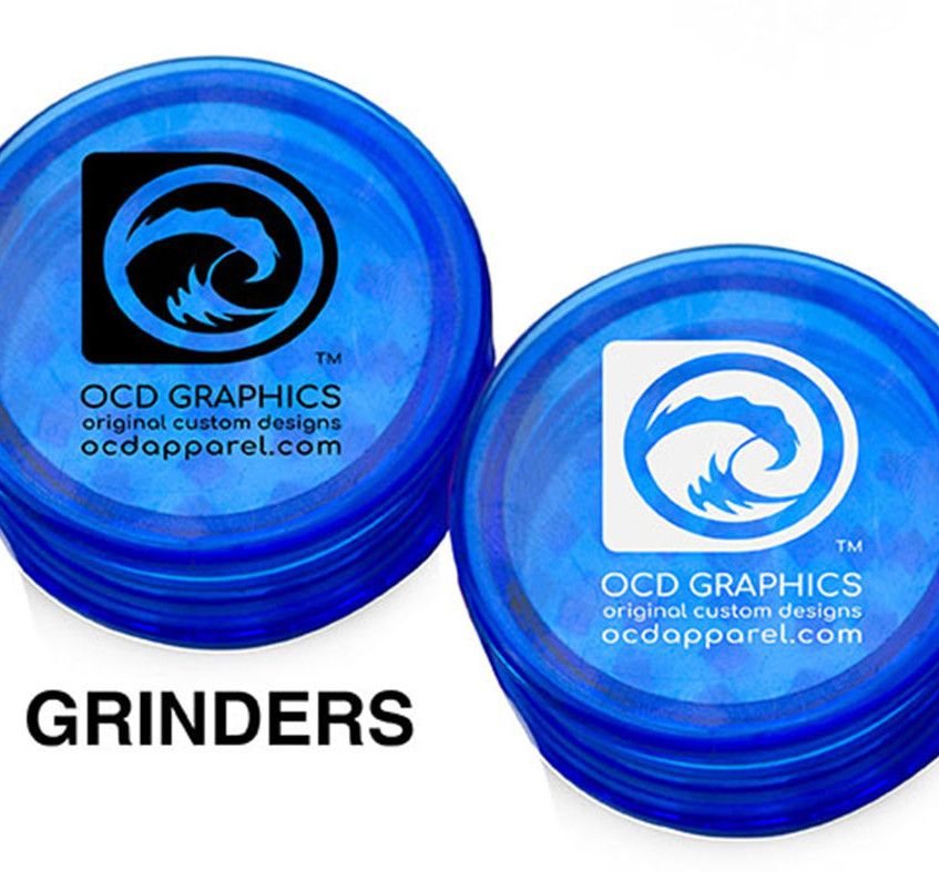 Grinders Customized Plastic