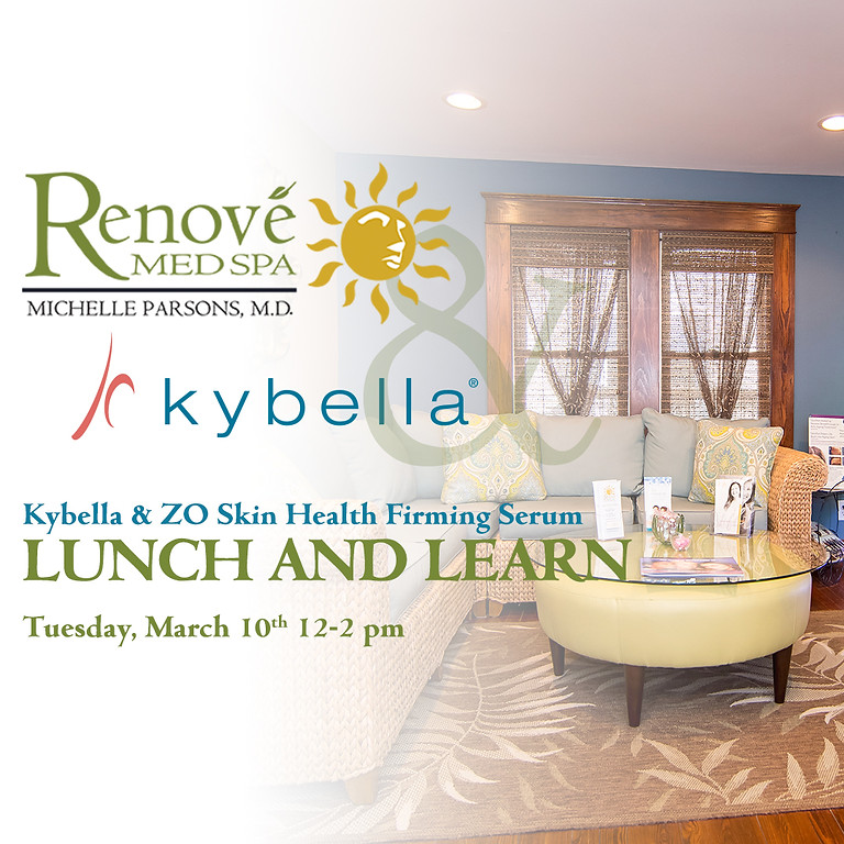Kybella and ZO Skin Health Firming Serum LUNCH and LEARN