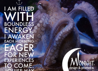 I Am Filled With Boundless Energy. I Awaken Each Morning Eager For New Experiences To Come.