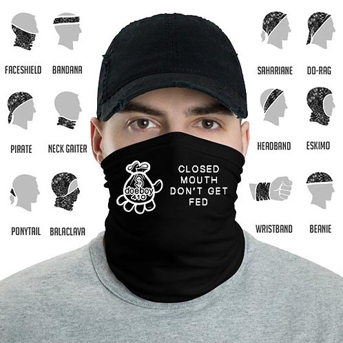 "Doeboy 410 Neck Gaiter - ""Closed Mouth"""
