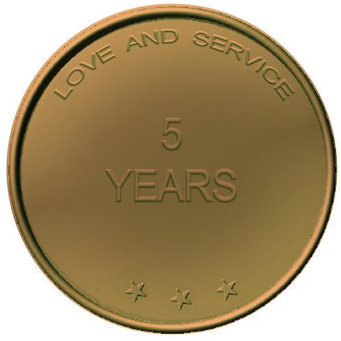 5 Years Chip