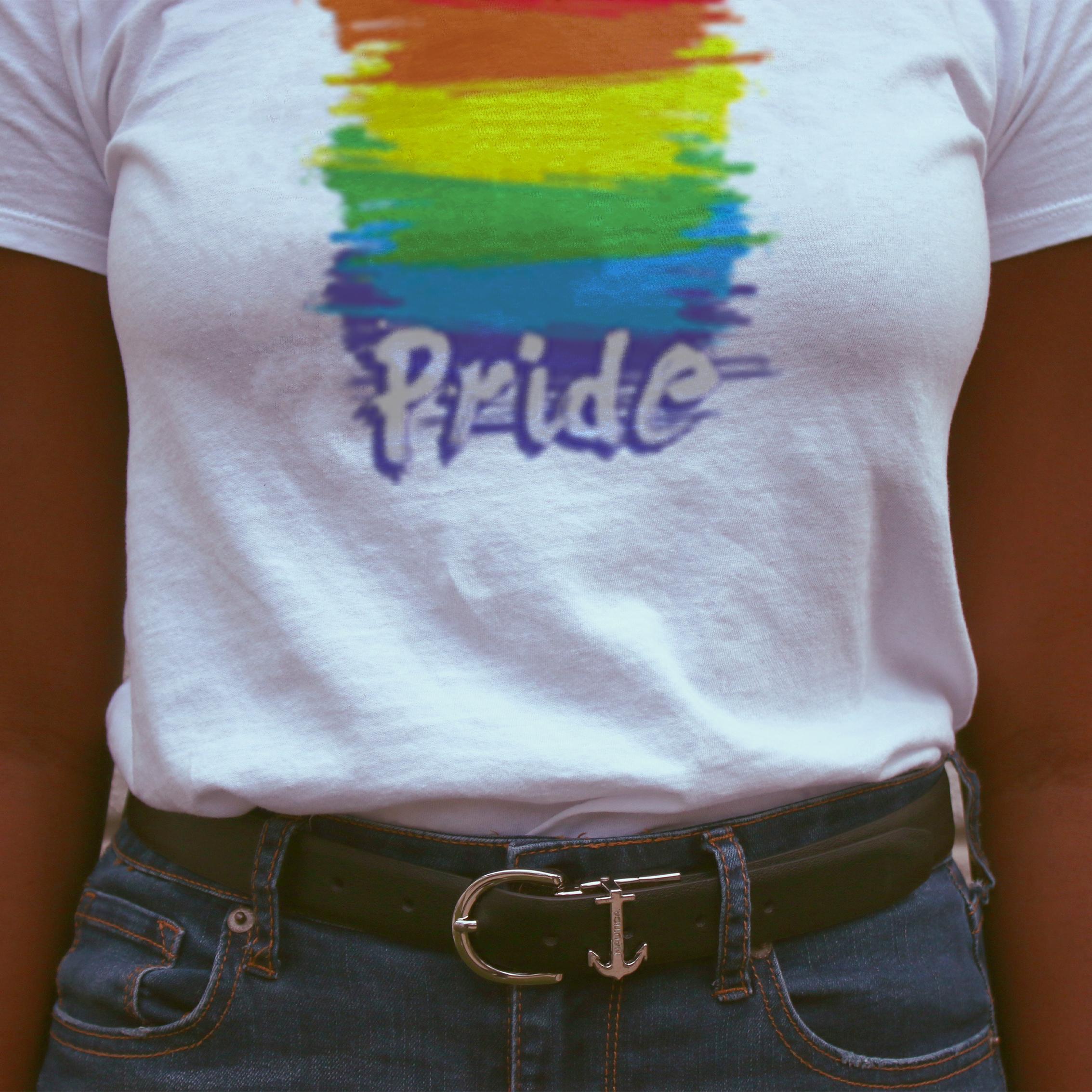 pride on model