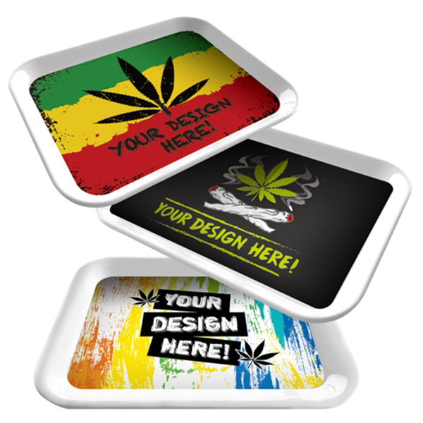 4 Color - Rolling - Tray