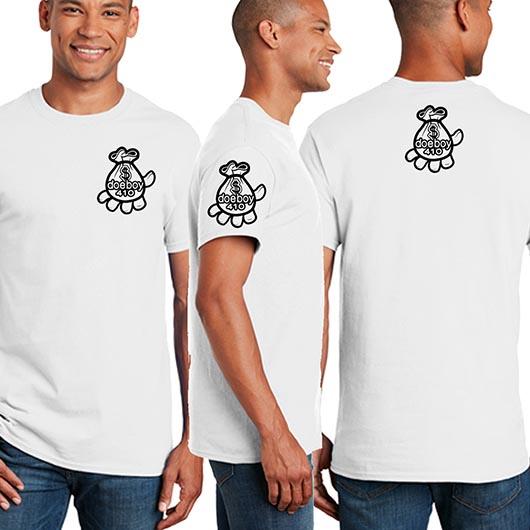 DOEBOY White Unisex Shirt Mockup