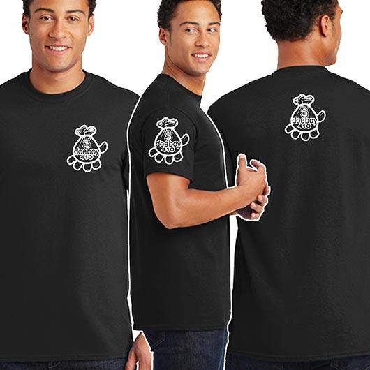 DOEBOY Black Unisex Shirt Mockup