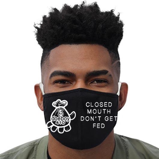 DOEBOY Black Facemask2 Mockup