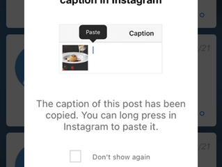 Post an Instagram Story or Carousel Post