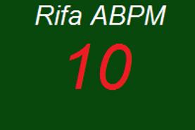 Numero 10 da Rifa ABPM