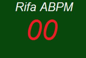 Numero 00 da Rifa ABPM