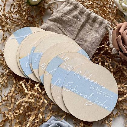 Baby Milestone Discs