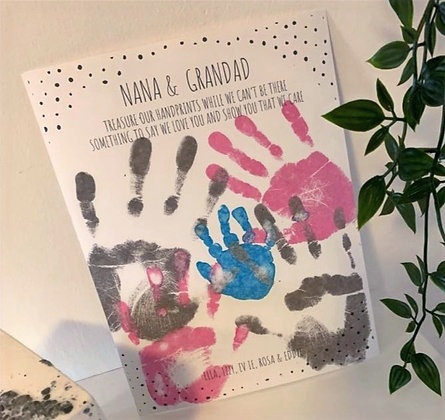 'Handprints to Treasure' Inkless Kit