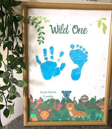 'Wild One' Inkless Keepsake Kit