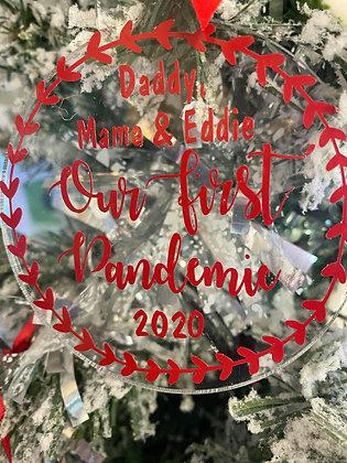 Pandemic Christmas Decoration