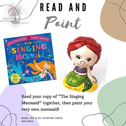 Read & Paint: Mermaid