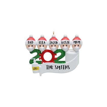 *PREORDER* Elf Mask 2020 Tree Decorations