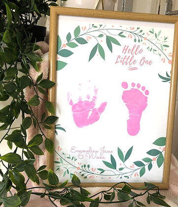 'Hello Little One' Inkless Keepsake Kit