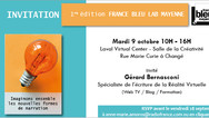 1ère édition du France Bleu LAB Mayenne au Laval Virtual Center