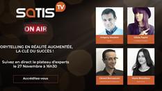 """SATIS 2020 émission TV """"La narration en Réalité Augmentée"""""""