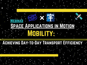 """Announcement of Webinar """"Mobility: Achieving Day-to-Day Transport Efficiency"""" on 4th February 2021"""