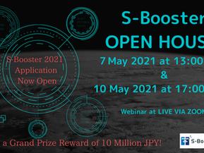 S-Booster 2021 Open House Webinar