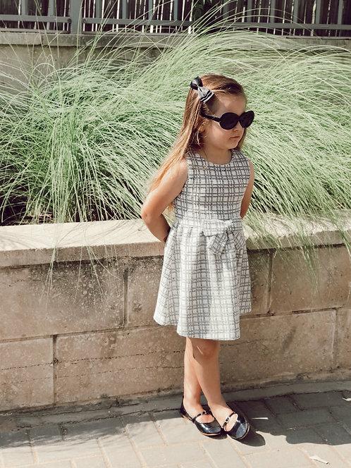 שמלה בשילוב פפיון