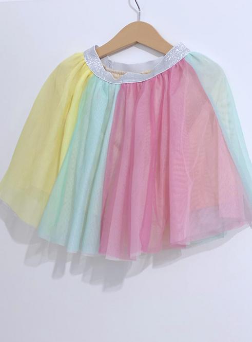 חצאית טול ריינבו