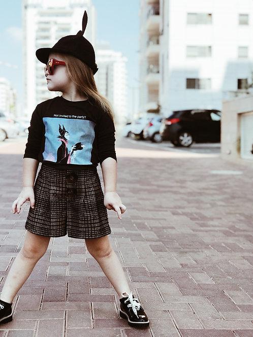 חולצה שחורה דיסני