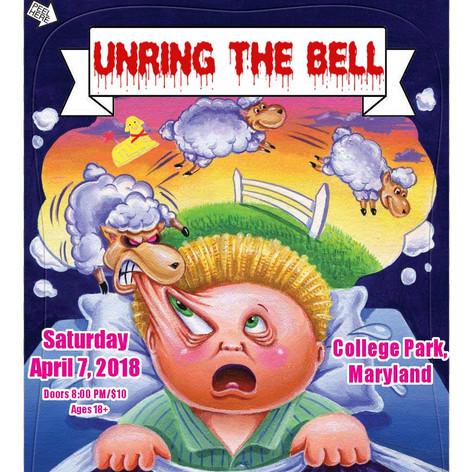 Unring The Bell - Milkboy Show Flyer