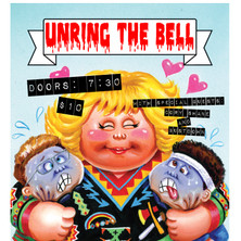 Unring The Bell - Black Cat Show Flyer
