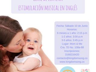 Estimulación musical en inglés