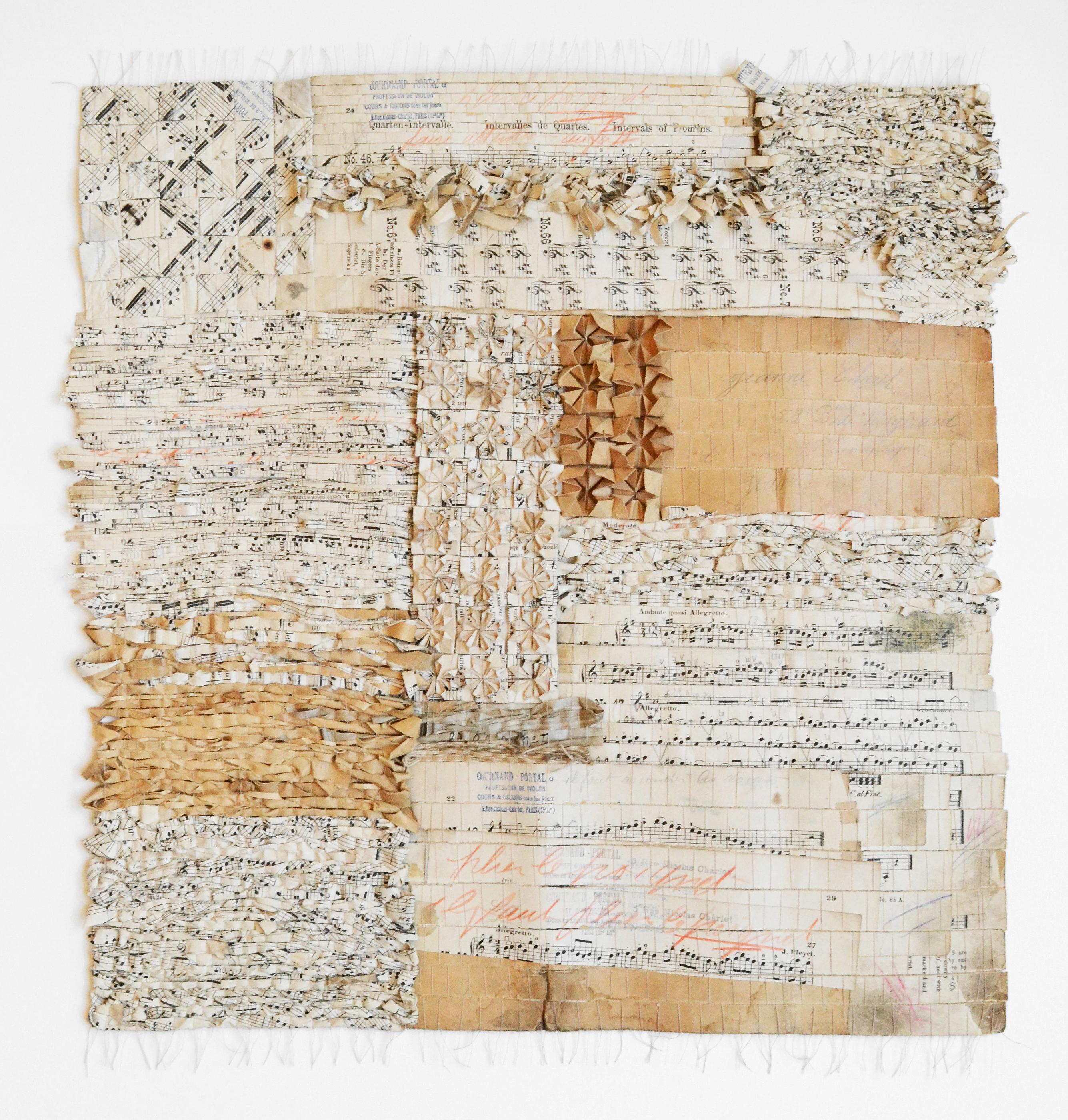 「Pattern of Mme Jeanne Cherel」2020 : 62×