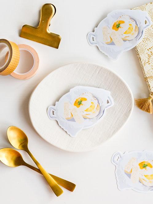 Sticker : Muffin anglais