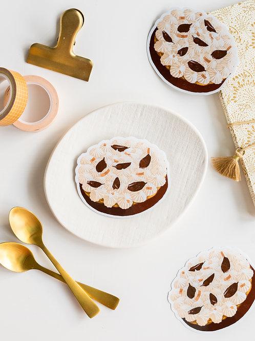 Sticker : Banoffee pie