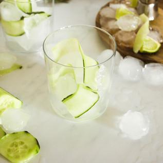 Gin Fizz au concombre
