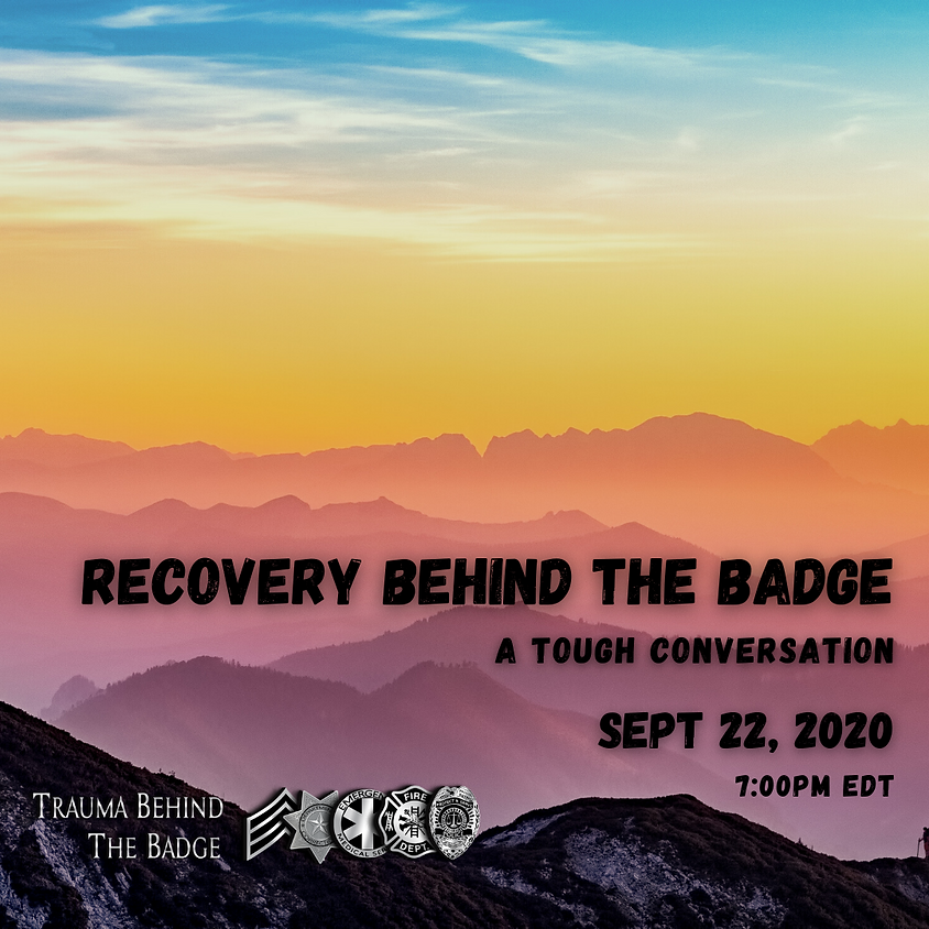 Recovery Behind the Badge