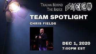 Team Spotlight: Chris Fields