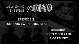 Family Behind the Badge Episode 3