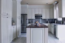 White Glazed Kitchen